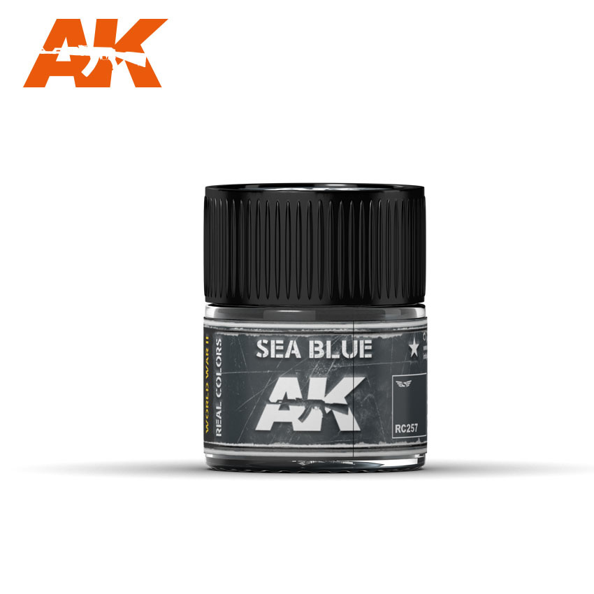 AK-Interactive Sea Blue - 10ml - RC257
