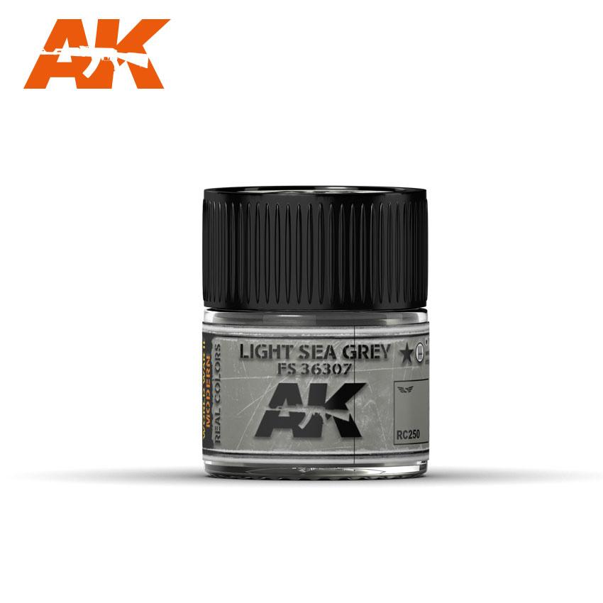 AK-Interactive Light Sea Grey Fs 36307 - 10ml - RC250