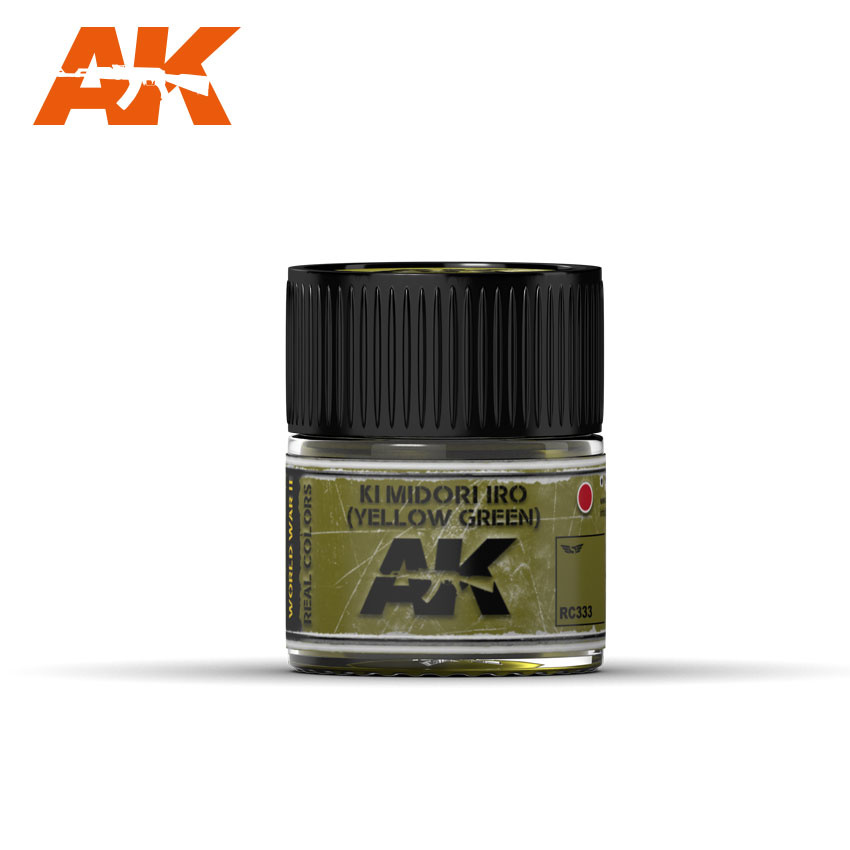AK-Interactive Ki Midori Iro (Yellow-Green) - 10ml - RC333