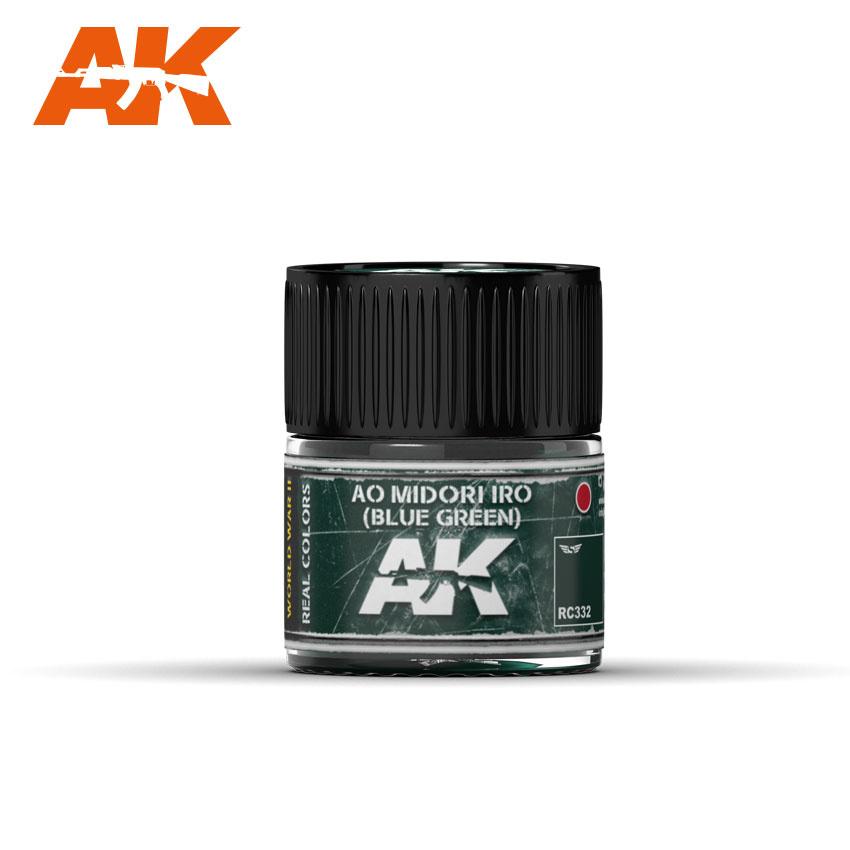 AK-Interactive Ao Midori Iro (Blue-Green) - 10ml - RC332