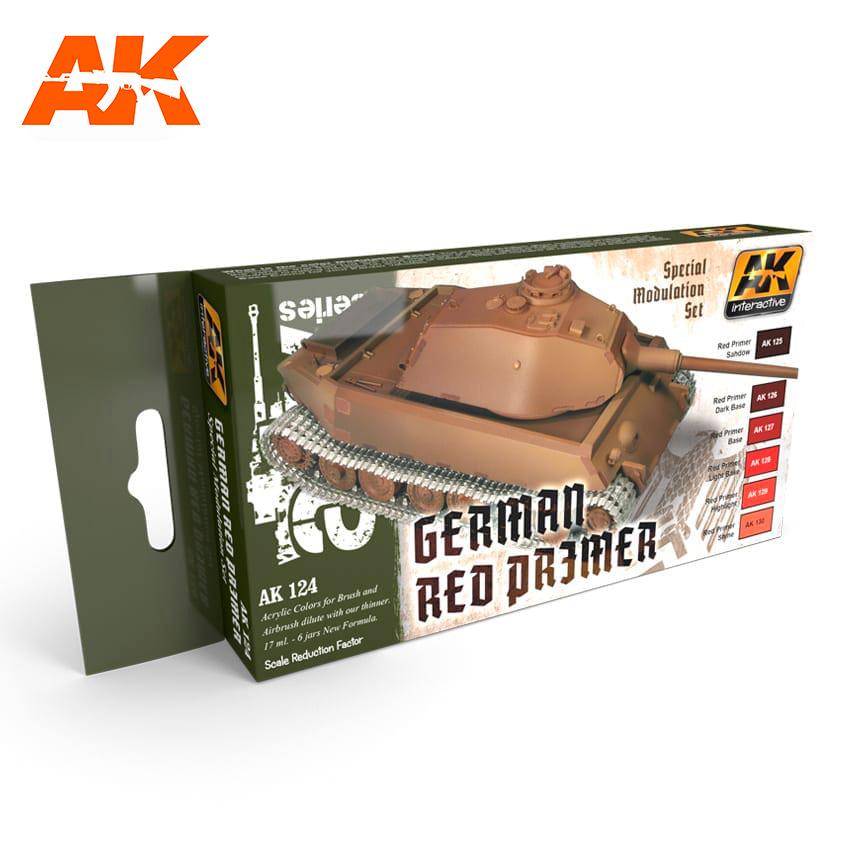 AK-Interactive Red Primer Modulation Set - AK-124