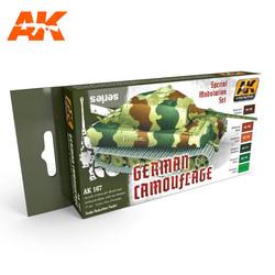 German Green And Brown Modulation Set - AK-167