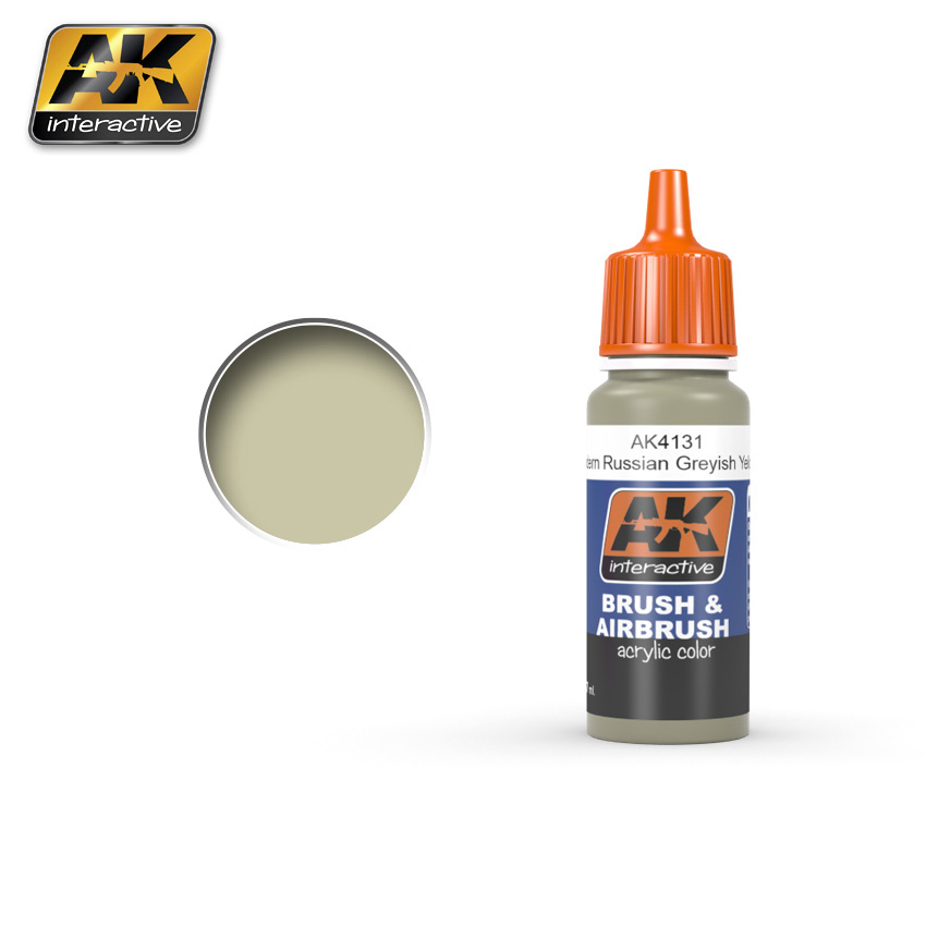 AK-Interactive Greyish Yellow - 17ml - AK-4131