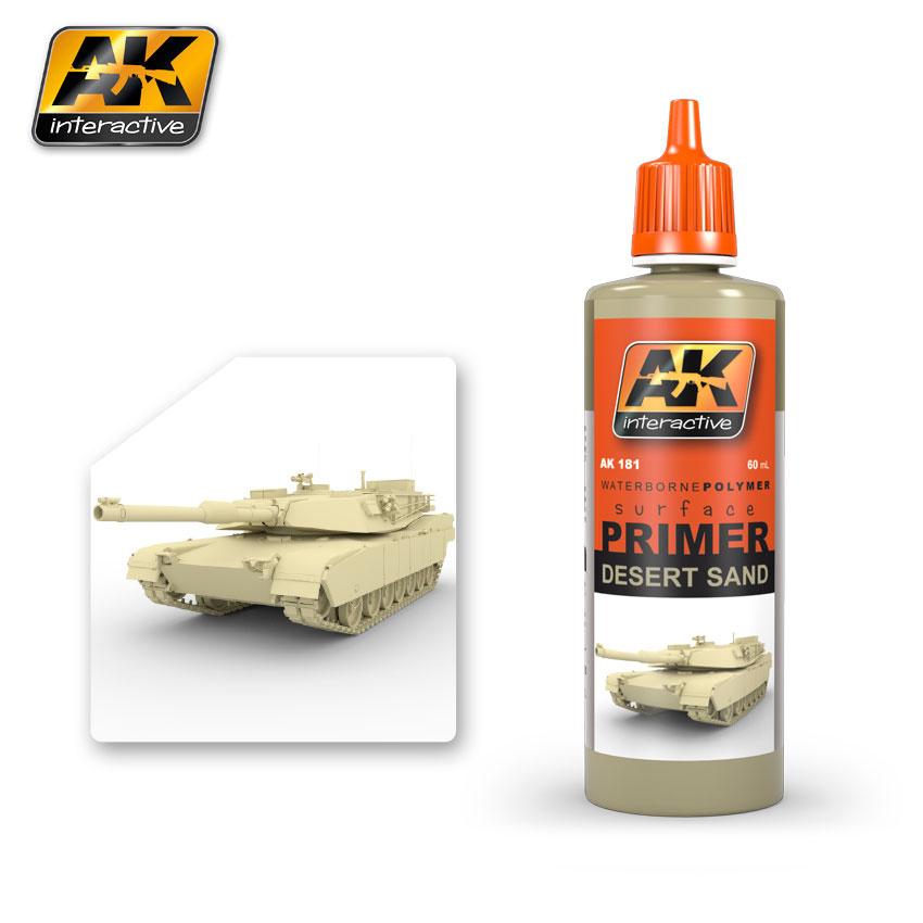 AK-Interactive Desert Sand Primer - 60ml - AK-181