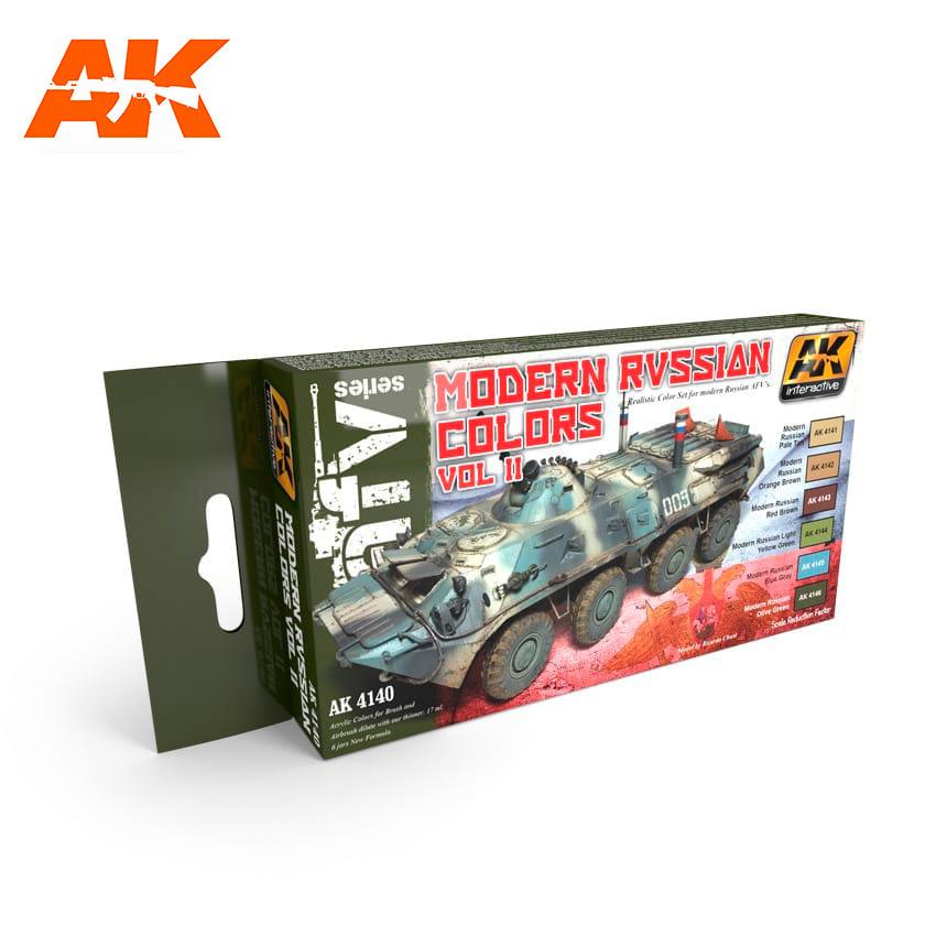 AK-Interactive Modern Russian Colours Vol.2 Set - AK-4140