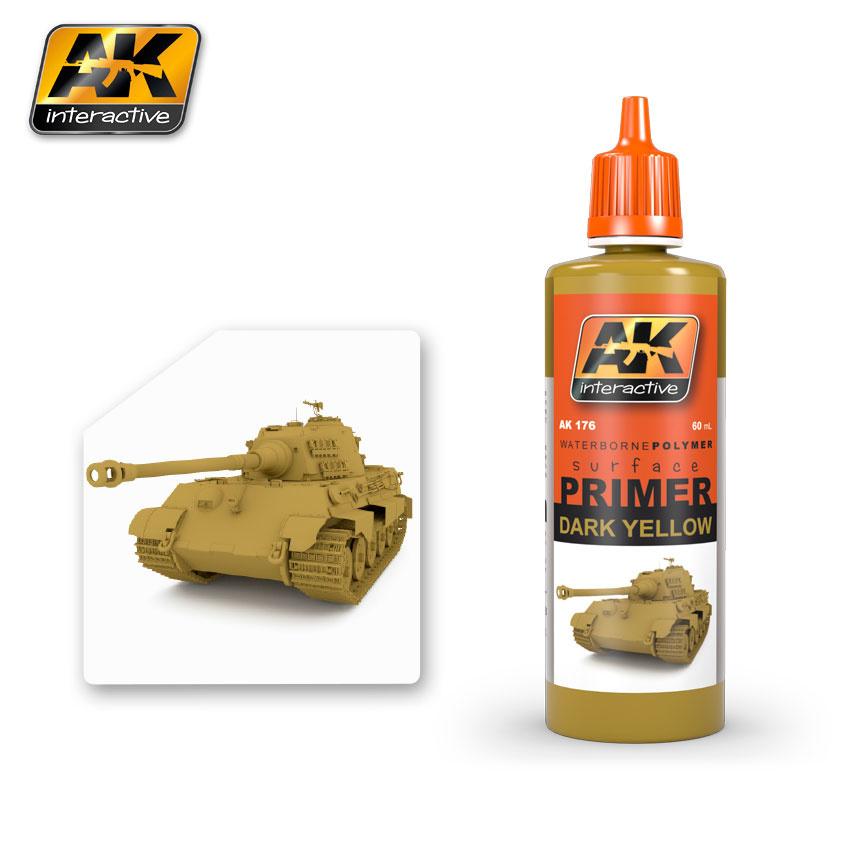 AK-Interactive Dark Yellow Primer - 60ml - AK-176