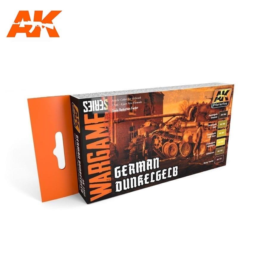 AK-Interactive German Dunkelgelb Colors Set - AK-1552