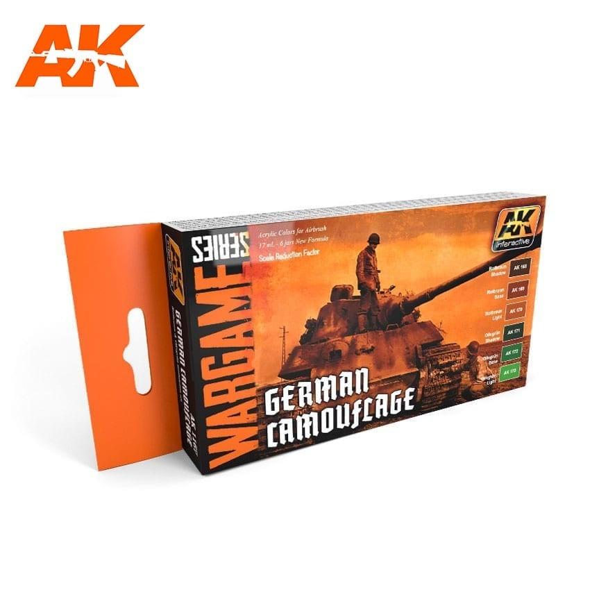 AK-Interactive German Camouflage Colors Set - AK-1167