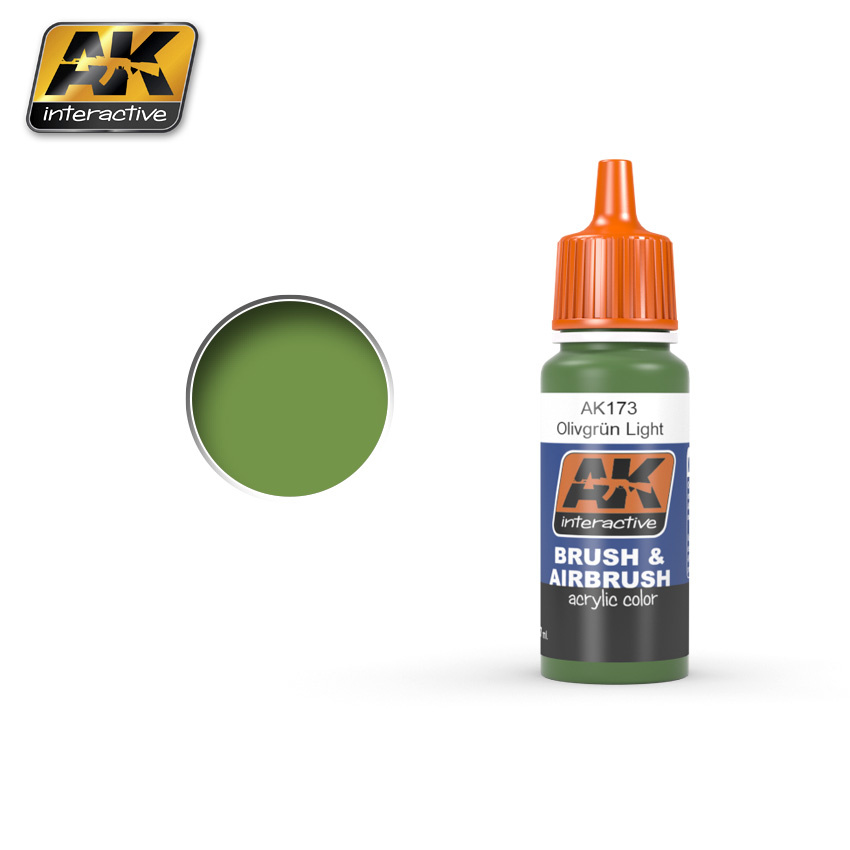 AK-Interactive Olivgrn Light - 17ml - AK-173