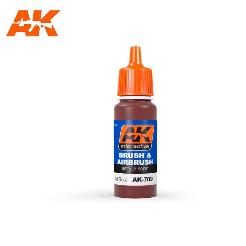 AK-Interactive Old Rust - 17ml - AK-709
