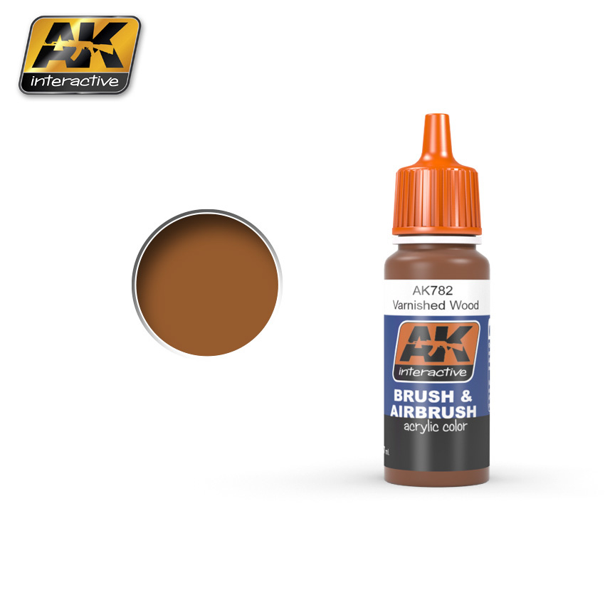 AK-Interactive Varnished Wood - 17ml - AK-782