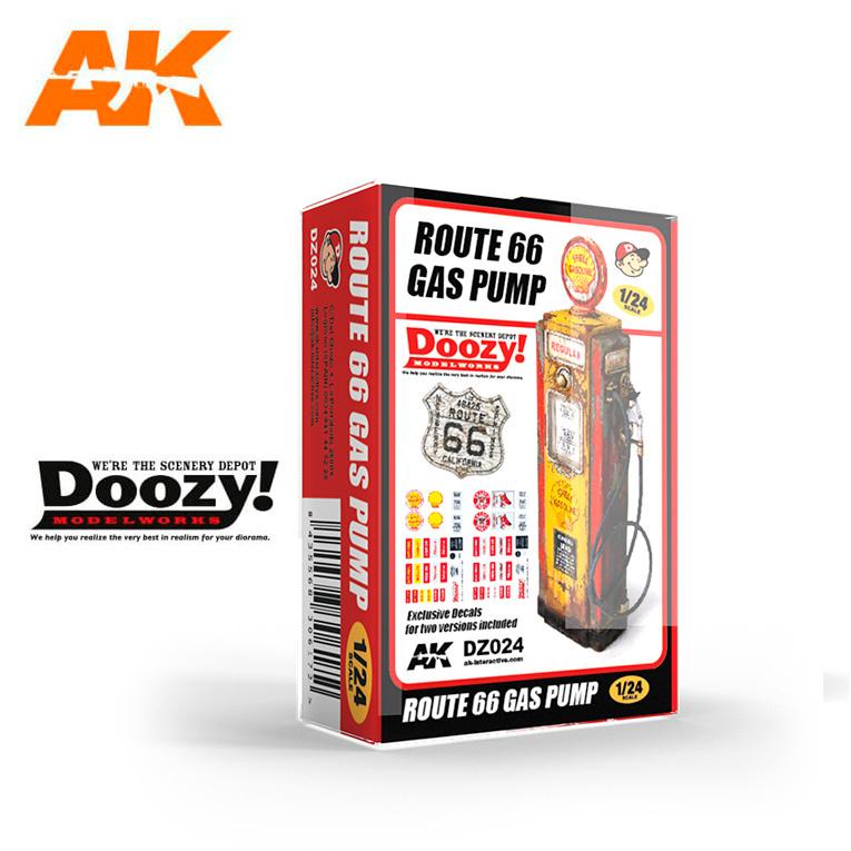 Doozy Route 66 Gas Pump - Scale 1/24 - DZ024
