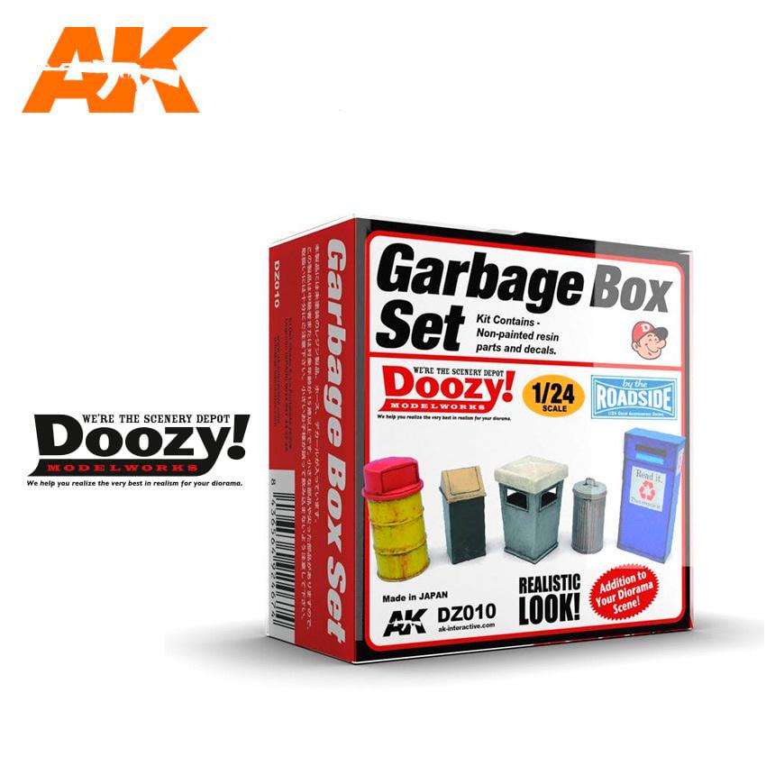Doozy Garbage Box Set - Scale 1/24 - DZ010