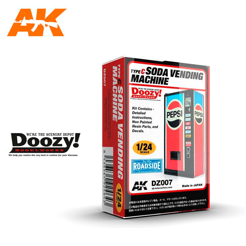 Doozy Soda Vending Machine / Type C - Scale 1/24 - DZ007