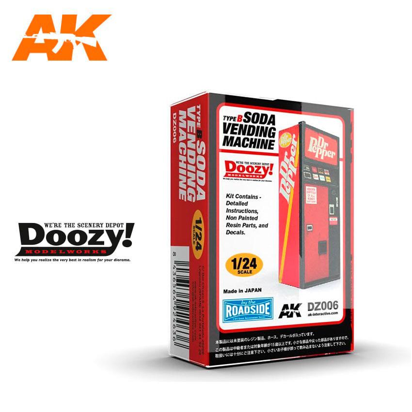 Doozy Soda Vending Machine / Type B - Scale 1/24 - DZ006