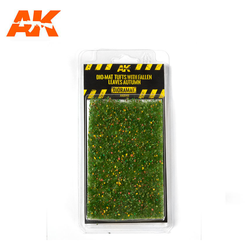 AK-Interactive Dio-Mat Tufts With Fallen Leaves Autumn - AK-8140