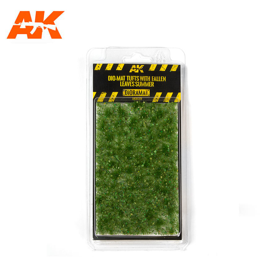 AK-Interactive Dio-Mat Tufts With Fallen Leaves Summer - AK-8139