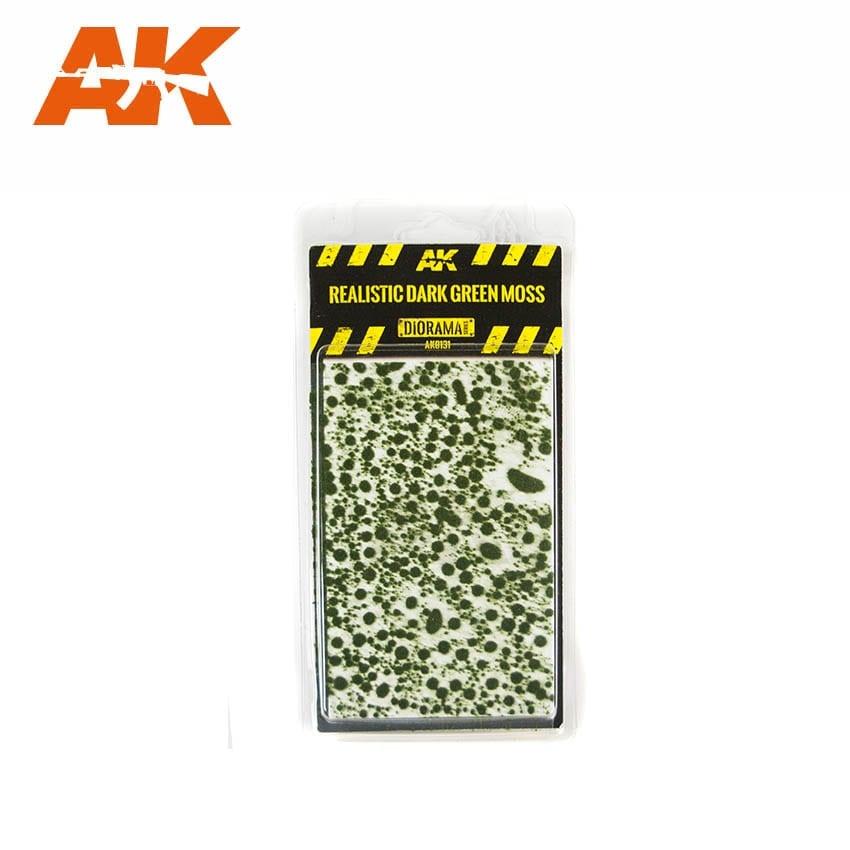 AK-Interactive Realistic Dark Green Moss - AK-8131
