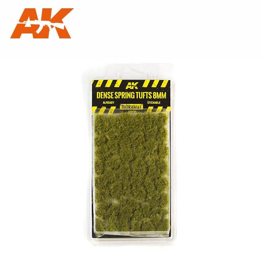 AK-Interactive Dense Spring Tufts 8mm - AK-8130