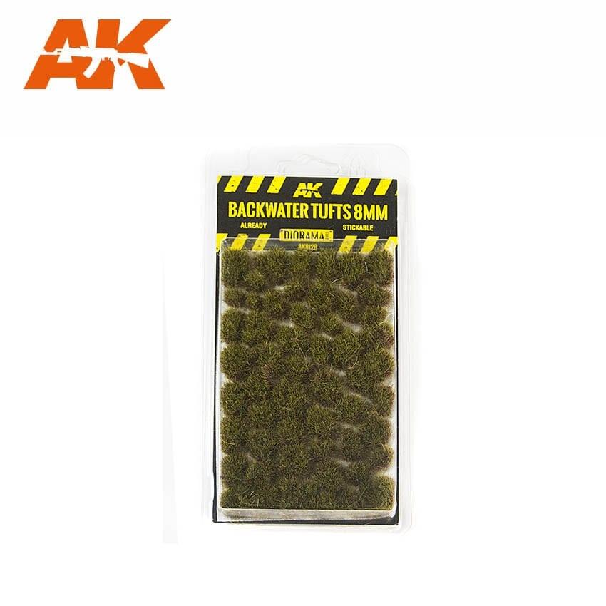 AK-Interactive Backwater Tufts 8mm - AK-8128
