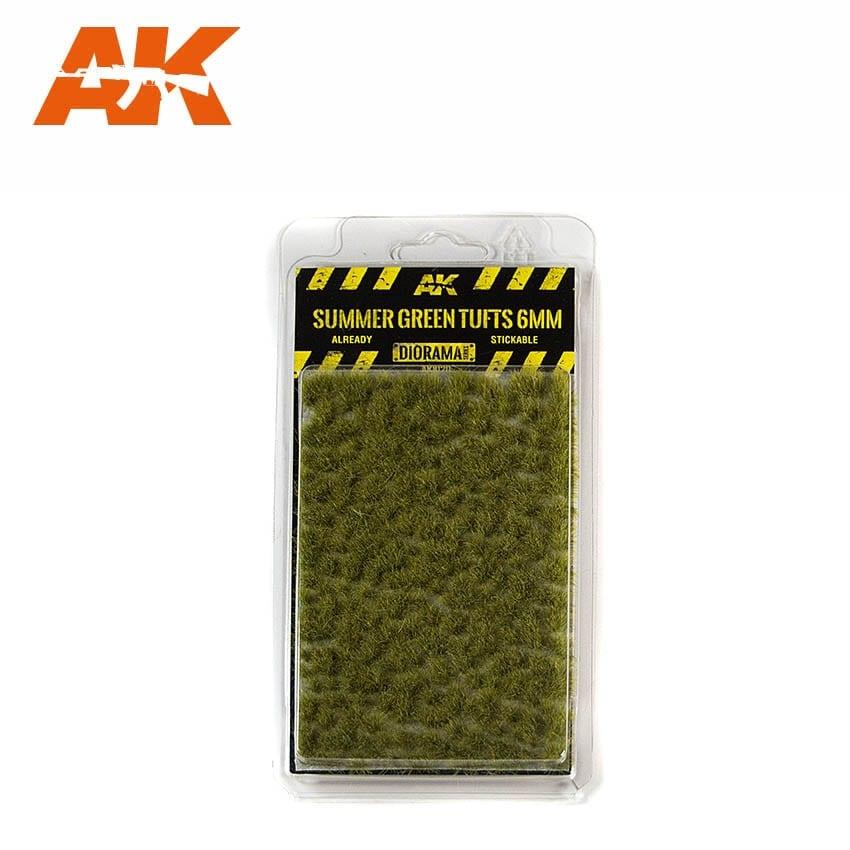 AK-Interactive Summer Green Tufts 2mm - AK-8124