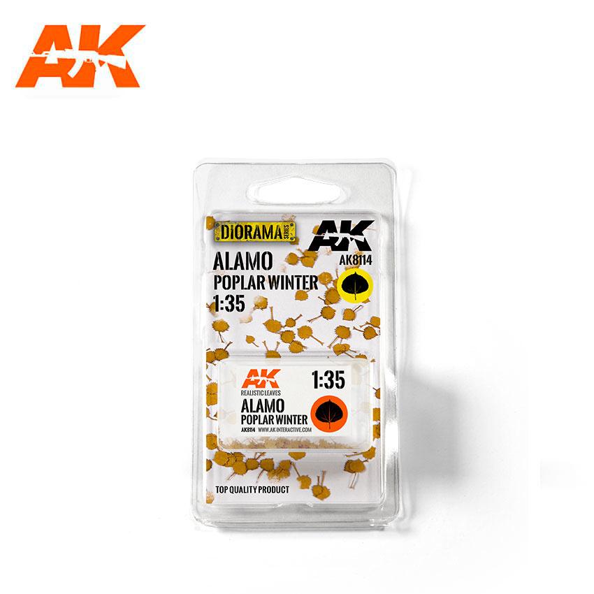 AK-Interactive Alamo Poplar Winter 1/35 - AK-8114