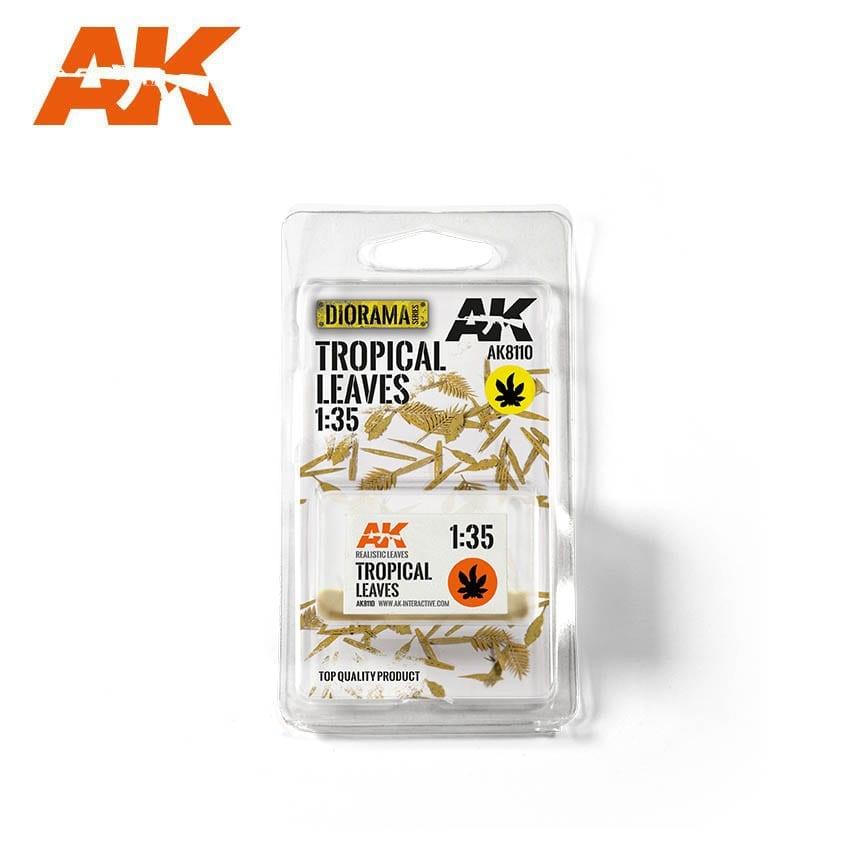 AK-Interactive Tropical Leaves 1/35 - AK-8110