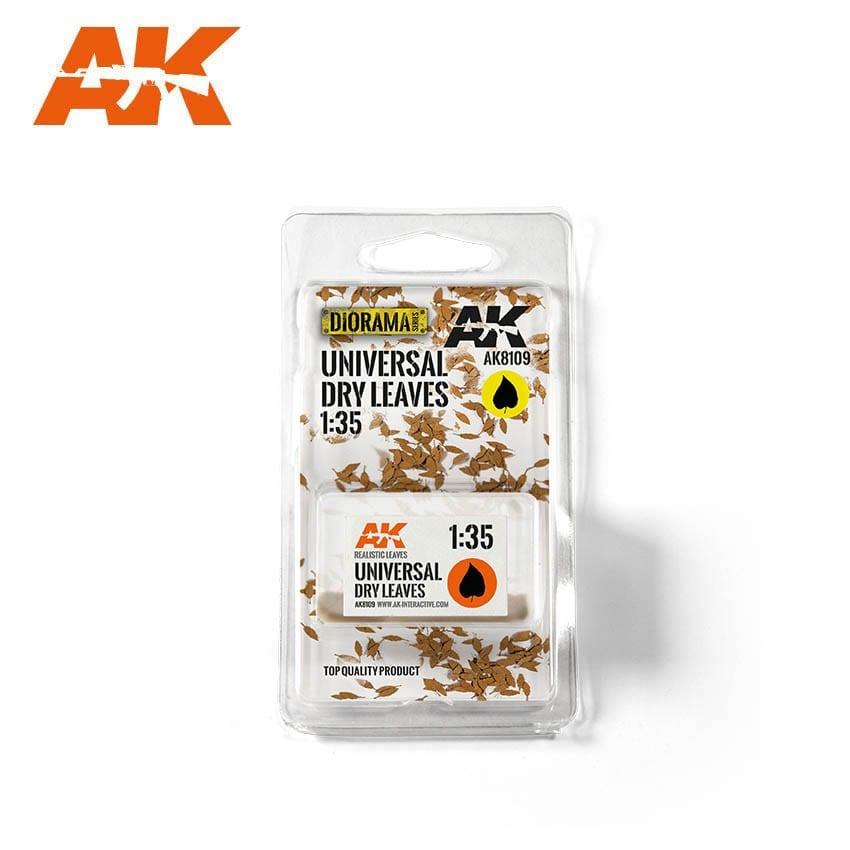 AK-Interactive Universal Dry Leaves 1/35 - AK-8109