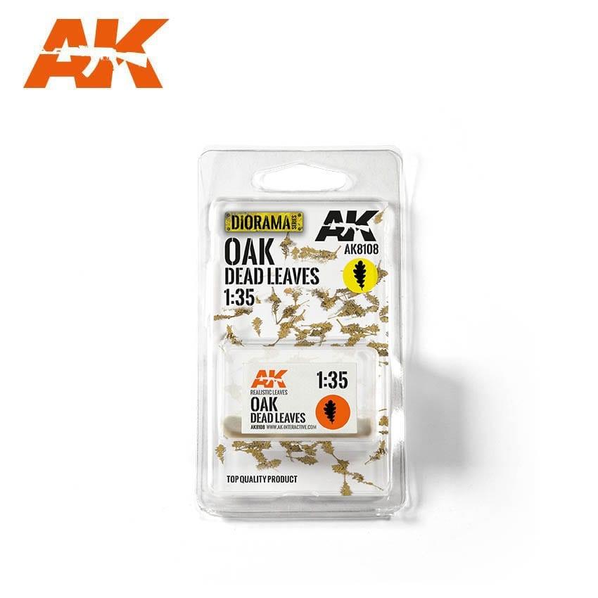 AK-Interactive Oak Dead Leaves 1/35 - AK-8108