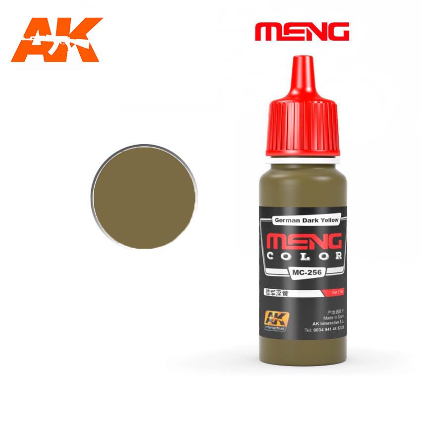 Meng Color German Dark Yellow - 17ml - Meng Color - MC256