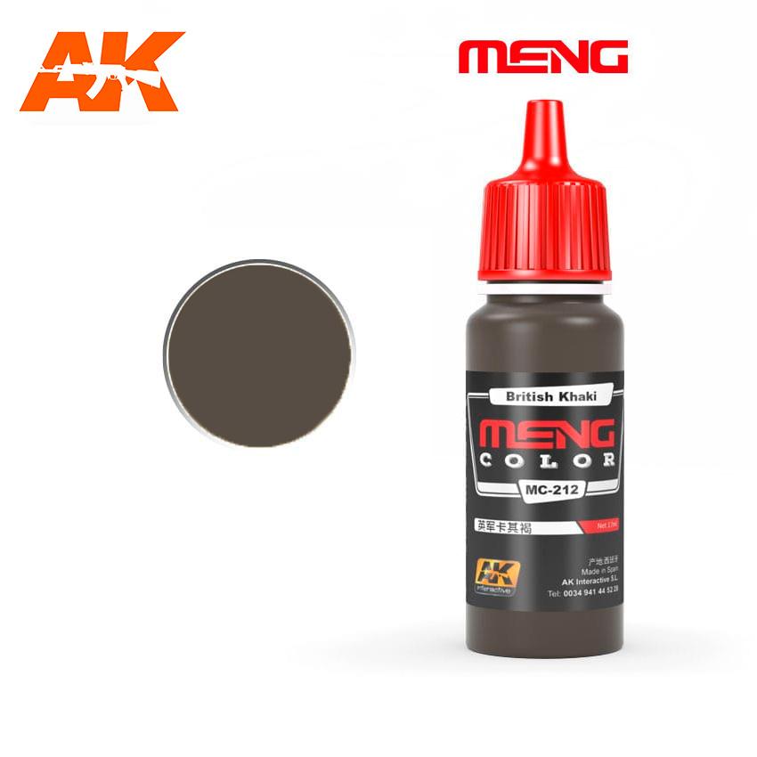 Meng Color British Khaki - 17ml - Meng Color - MC212