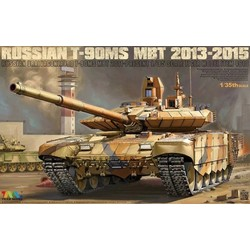 T-90Ms Mbt 2013-2015 - Tiger Model - Scale 1/35 - TIGE4610