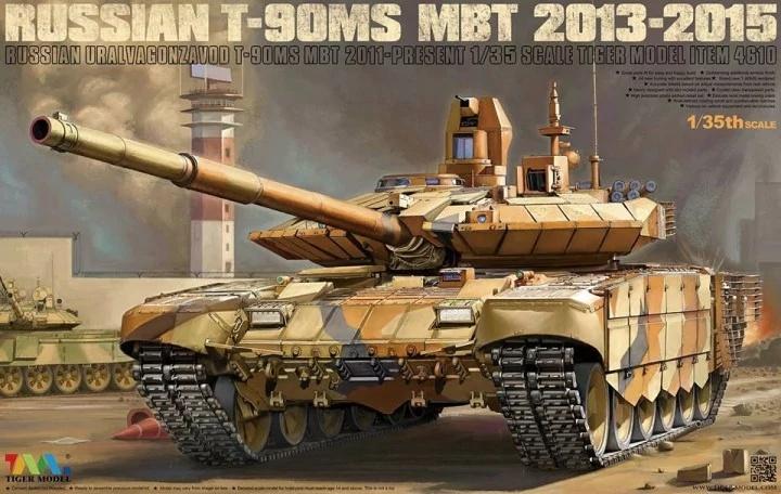 Tiger Model T-90Ms Mbt 2013-2015 - Tiger Model - Scale 1/35 - TIGE4610