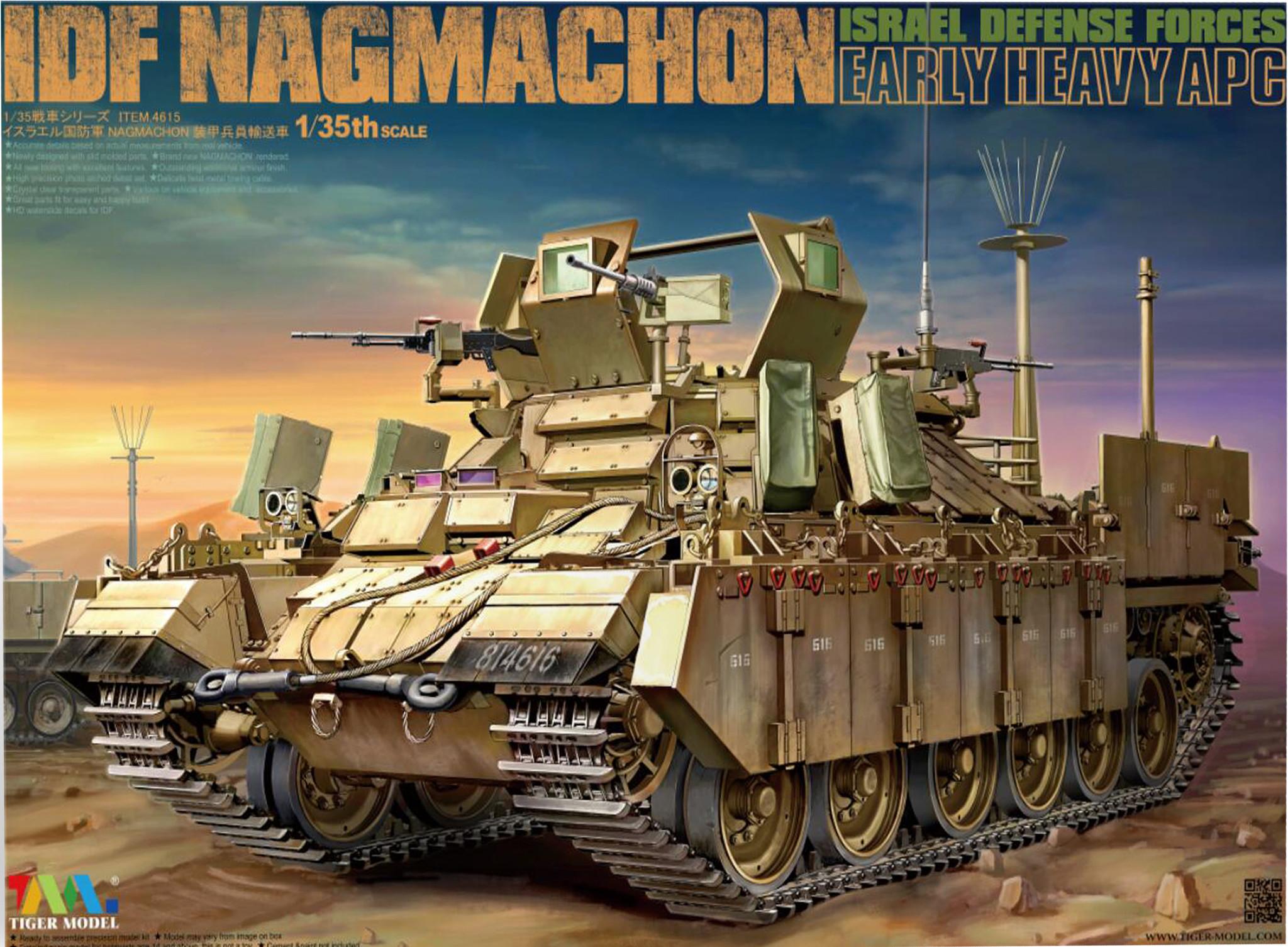 Tiger Model Nagmachon Apc Early - Tiger Model - Scale 1/35 - TIGE4615