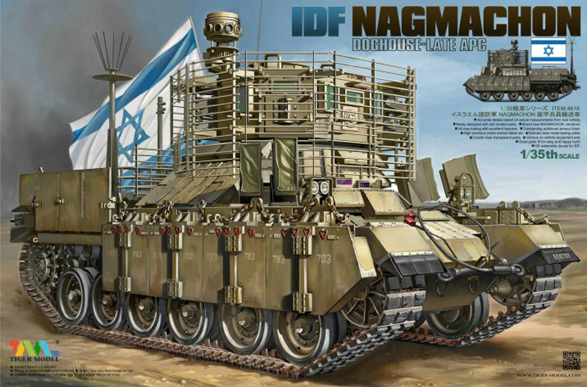 Tiger Model Nagmachon Doghouse-Late Apc - Tiger Model - Scale 1/35 - TIGE4616