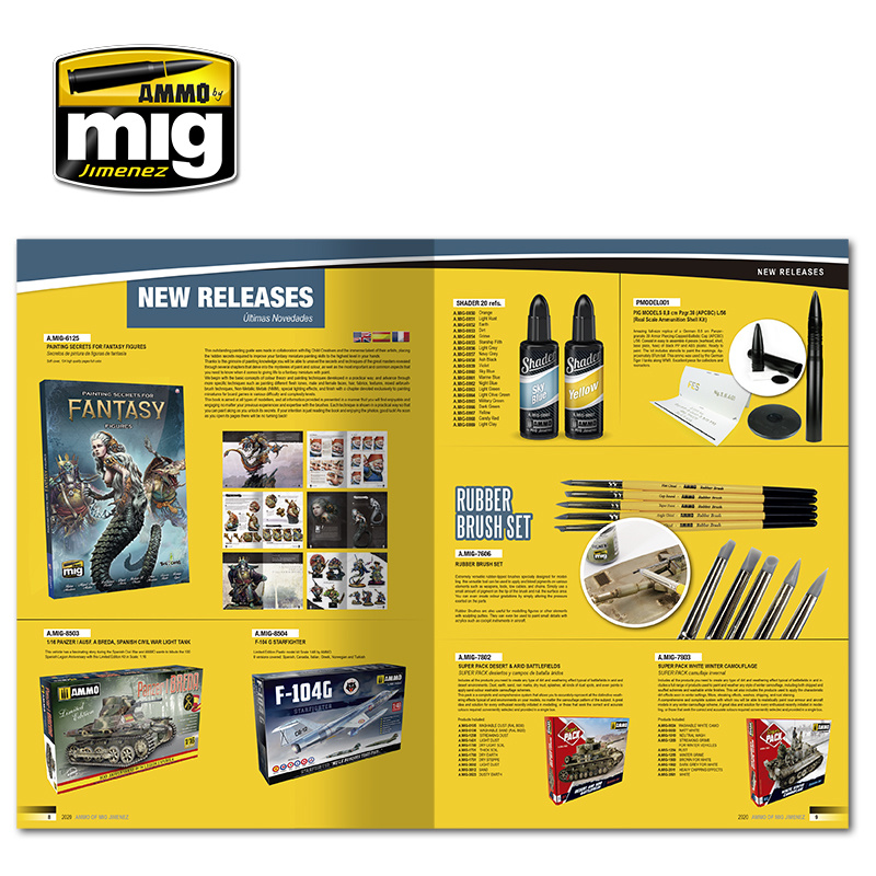 Ammo by Mig Jimenez Ammo Catalogue With Step-By-Step (Winter 2020) - A.MIG-8300