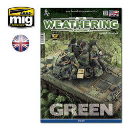 The Weathering Magazine Issue 29. Green - English - A.MIG-4528 - Ammo by Mig-Jimenez