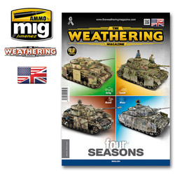The Weathering Magazine Issue 28. Four Seasons - English - Ammo by Mig Jimenez - A. MIG-4527