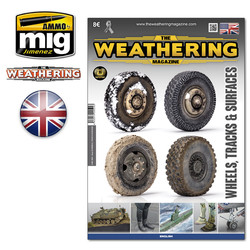 The Weathering Magazine Issue 25. Wheels, Tracks & Surfaces - English - Ammo by Mig Jimenez - A.MIG-4524