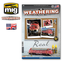 The Weathering Magazine Issue 18. Real - English - Ammo by Mig Jimenez - A.MIG-4517