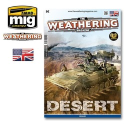 The Weathering Magazine Issue 13. Desert - English - Ammo by Mig Jimenez - A. MIG-4512