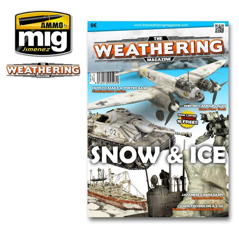 The Weathering Magazine The Weathering Magazine Issue 7. Ice & Snow - English - Ammo by Mig Jimenez - A.MIG-4506