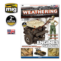 The Weathering Magazine Issue 4. Engines, Fuel And Oil - English - Ammo by Mig Jimenez - A.MIG-4503