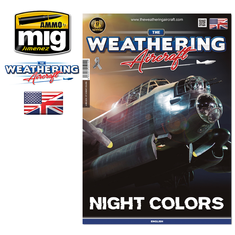 The Weathering Aircraft The Weathering Aircraft - Issue 14. Night Colors - English - A.MIG-5214