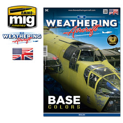 The Weathering Aircraft - Issue 4. Base Colors - English - Ammo by Mig Jimenez -  A.MIG-5204