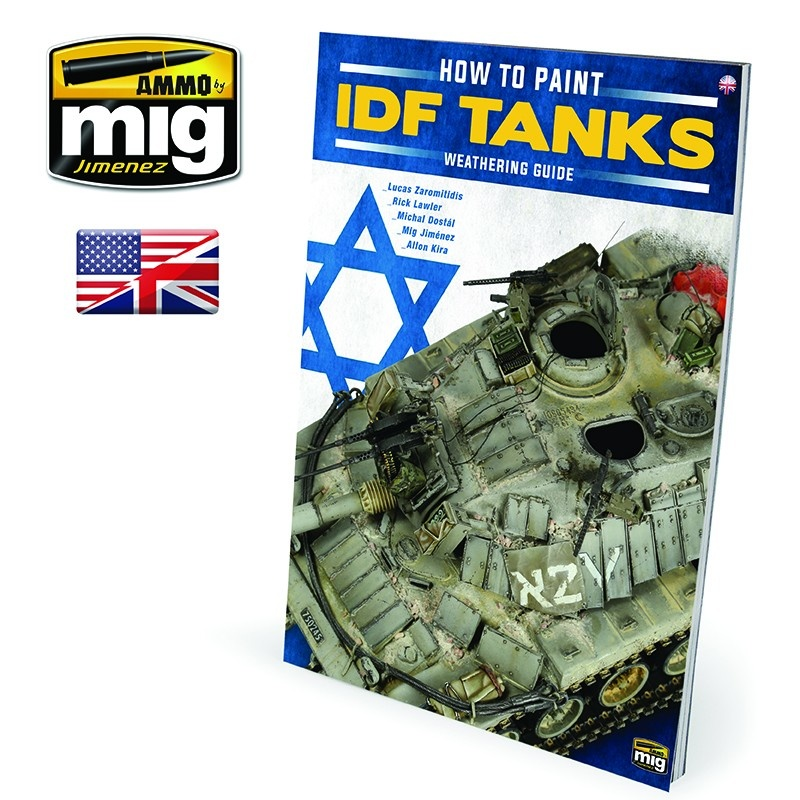 The Weathering Special The Weathering Special - How To Paint Idf Tanks - Weathering Guide English - A.MIG-6128
