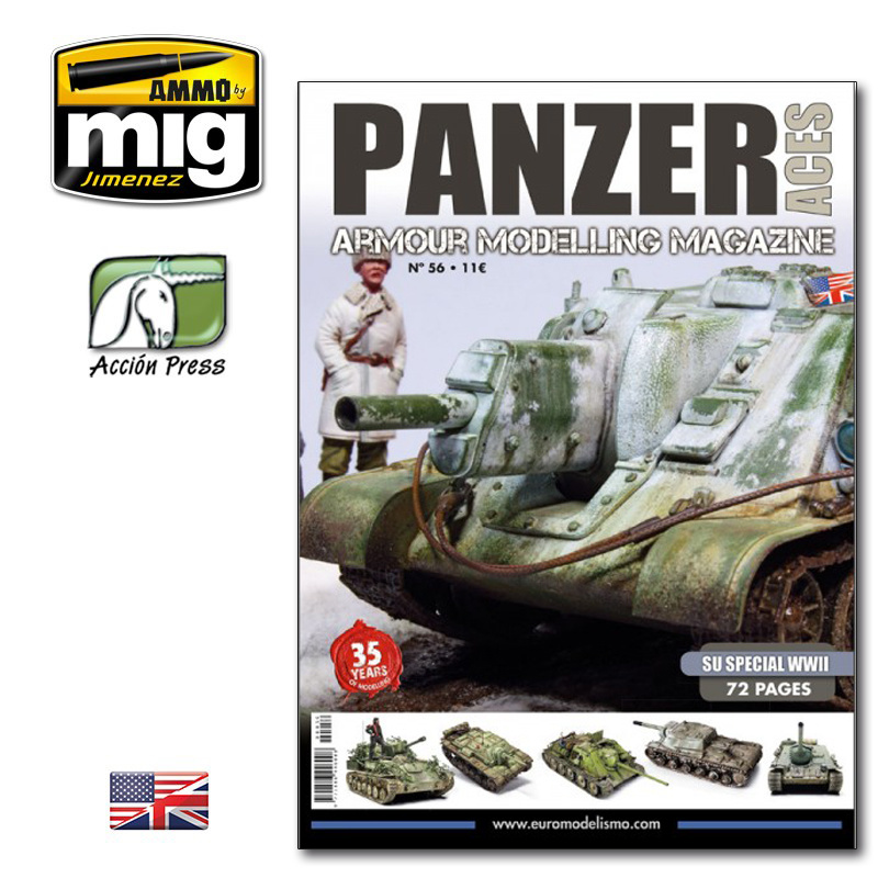 Panzer Aces Panzer Aces #56 (Su Special WWII) English - PANZ-0056