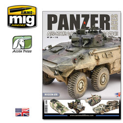 Panzer Aces #54 (Modern Afv - 66 Pages) English - PANZ-0054