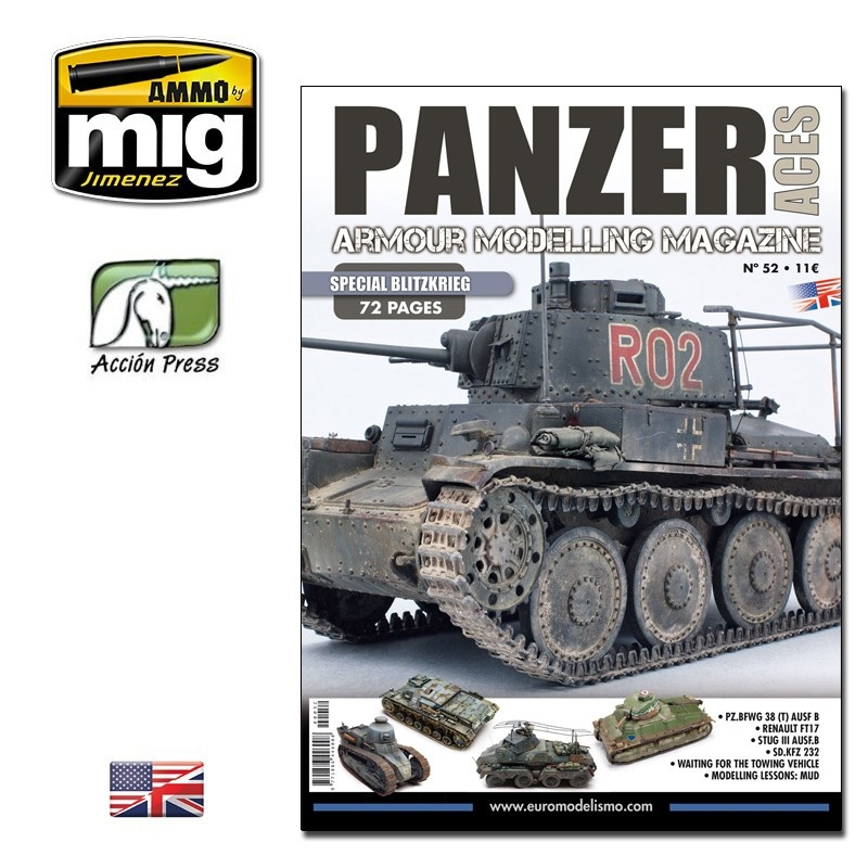 Panzer Aces Panzer Aces #52 (Special Blitz - 72 Pages) English - PANZ-0052