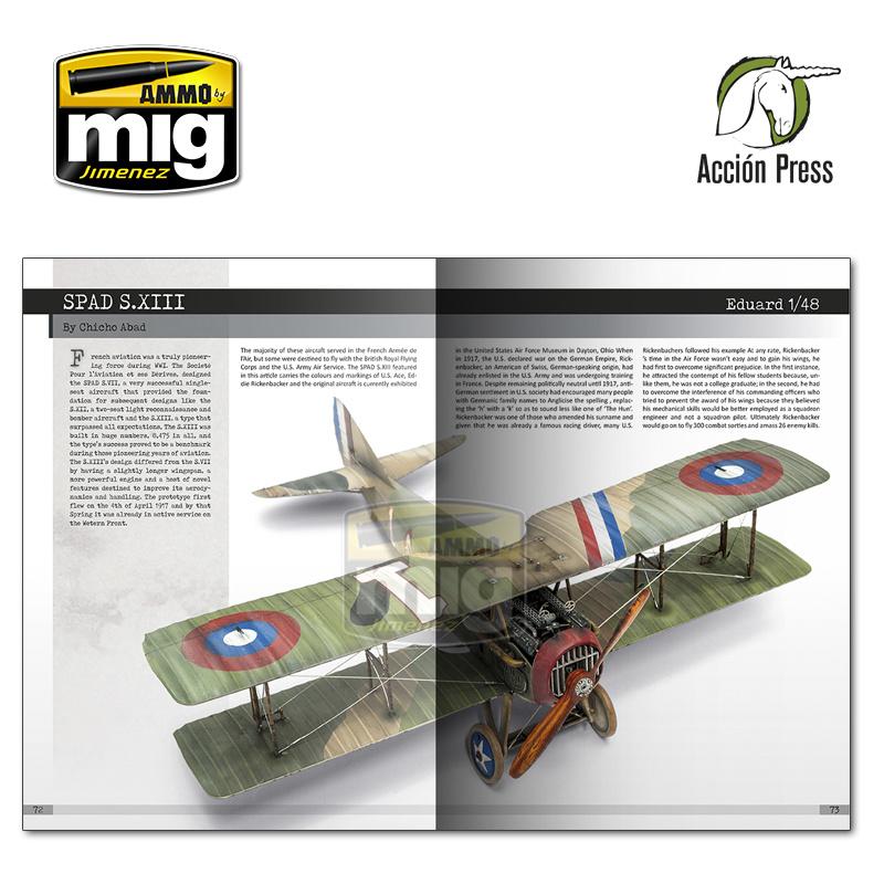 Ammo by Mig Jimenez Airplanes In Scale - Vol Iii -World War I English - EURO-0027